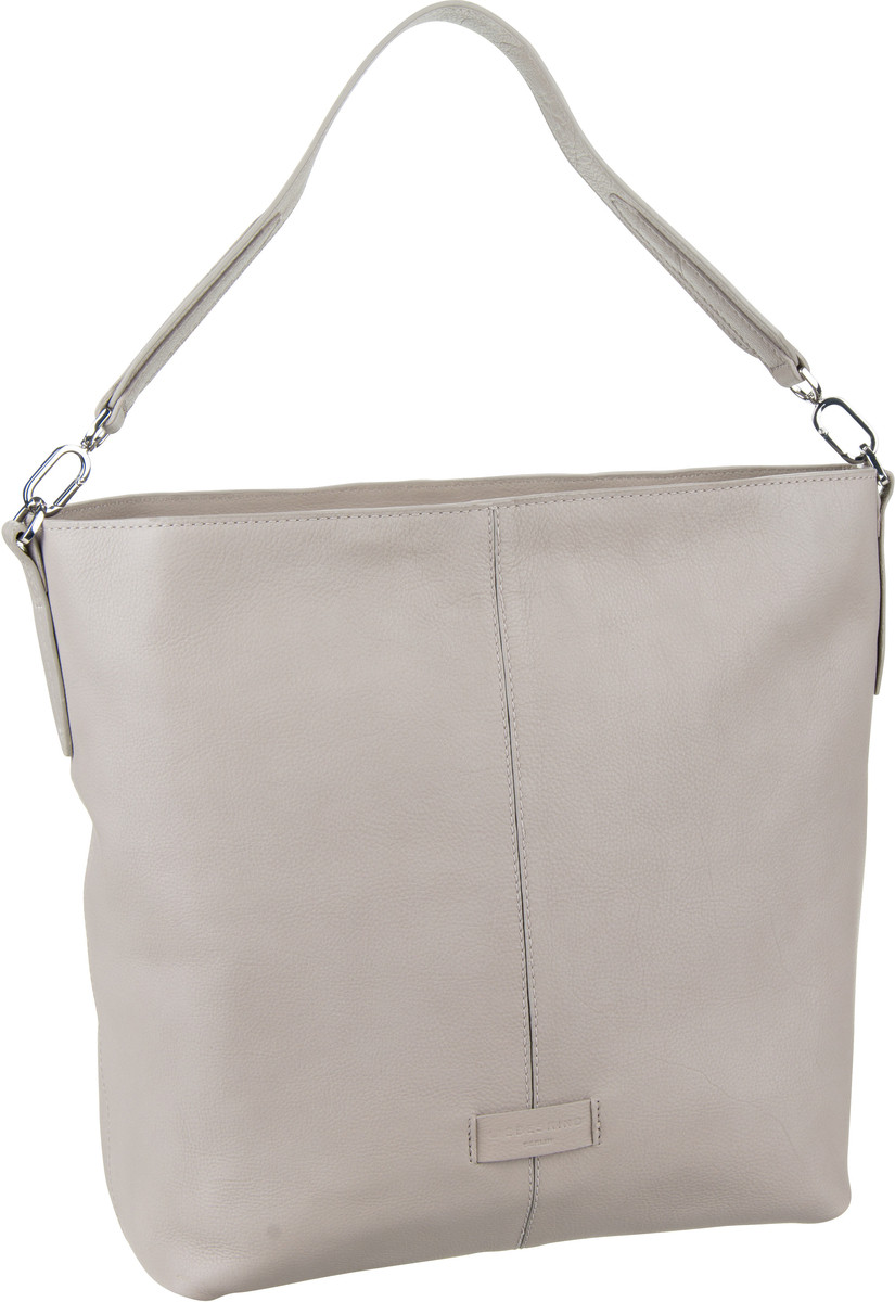Berlin Handtasche Essential Hobo M String Grey