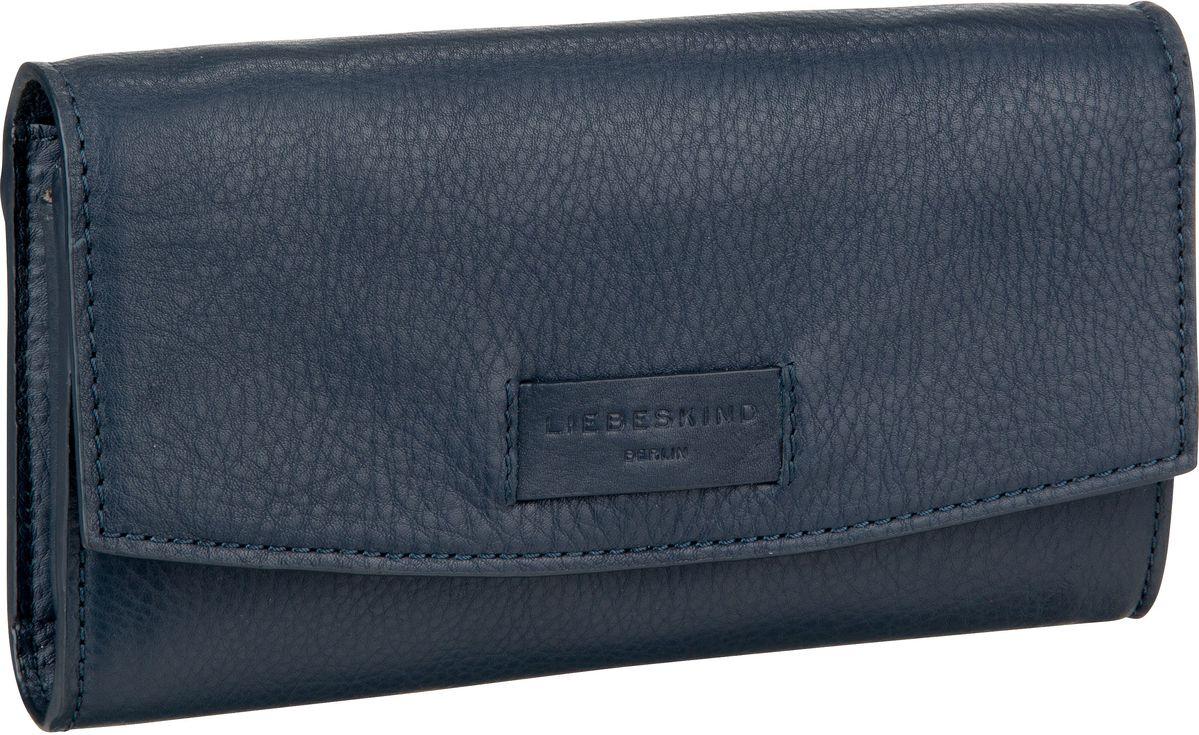 Berlin Handtasche Essential Clutch S Navy Blue