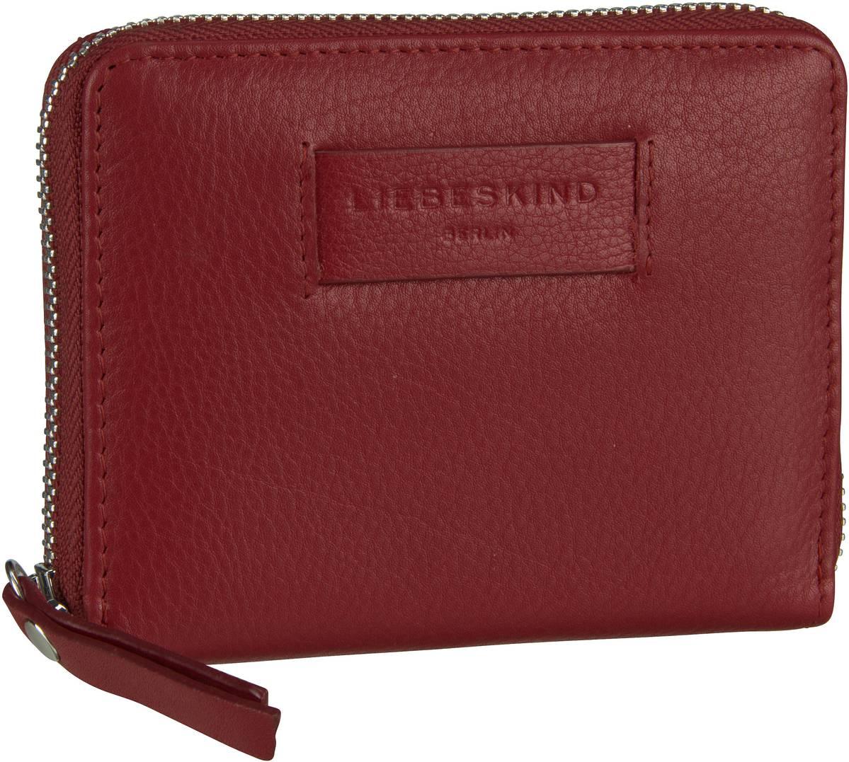 Geldboersen für Frauen - Liebeskind Berlin Geldbörse Essential Conny Wallet  M Italian Red - Onlineshop Taschenkaufhaus 82315e39ad