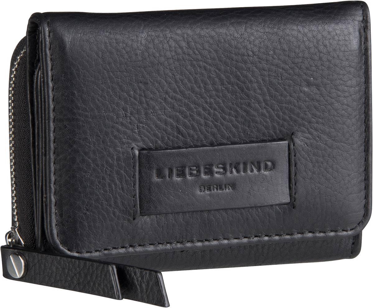 Geldboersen für Frauen - Liebeskind Berlin Geldbörse Essential Pablita  Wallet M Black - Onlineshop Taschenkaufhaus 8e89430930