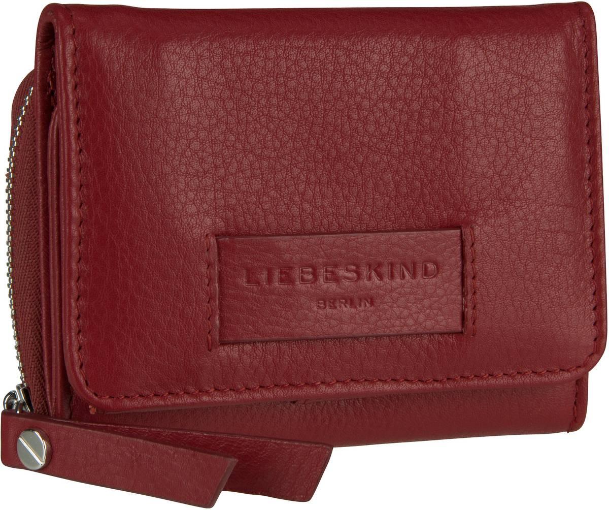 Geldboersen für Frauen - Liebeskind Berlin Geldbörse Essential Pablita Wallet M Italian Red  - Onlineshop Taschenkaufhaus