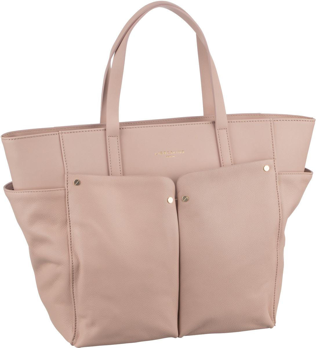 Shopper für Frauen - Liebeskind Berlin Shopper Duo Shopper L Dusty Rose  - Onlineshop Taschenkaufhaus