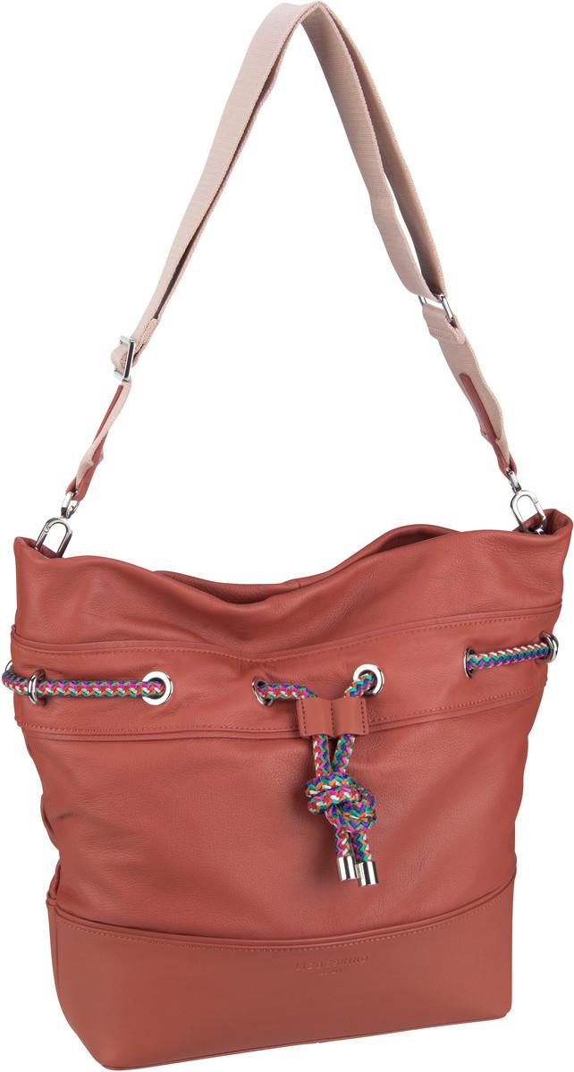 Berlin Handtasche Knotical Hobo L Hot Red