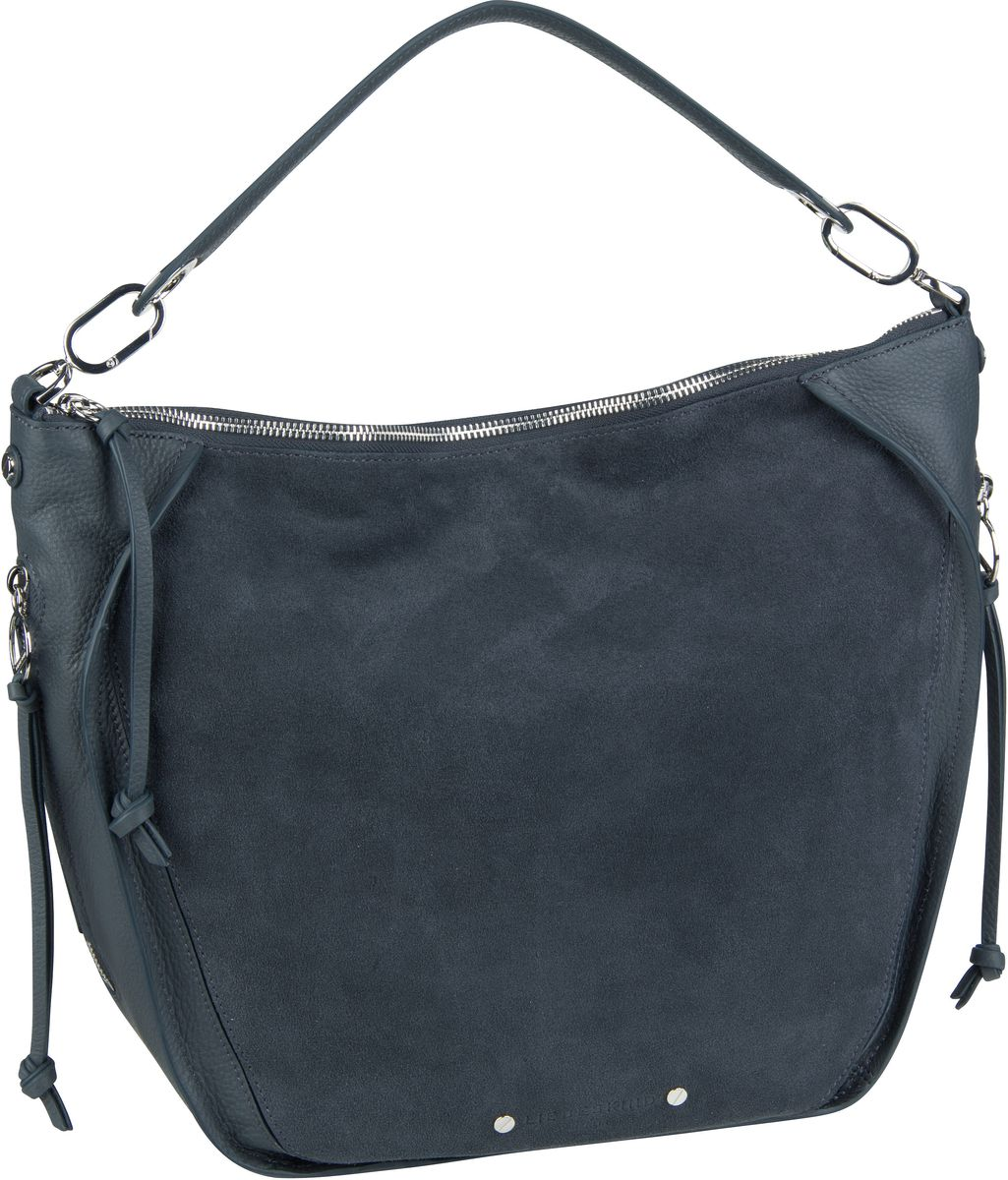 Berlin Beuteltasche Saddy Suede Crossbody M Urban Blue