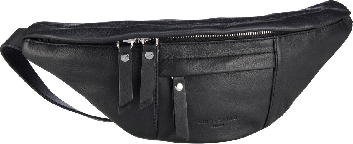 Kleinwaren für Frauen - Liebeskind Berlin Gürteltasche Belt Bag 01 Black  - Onlineshop Taschenkaufhaus