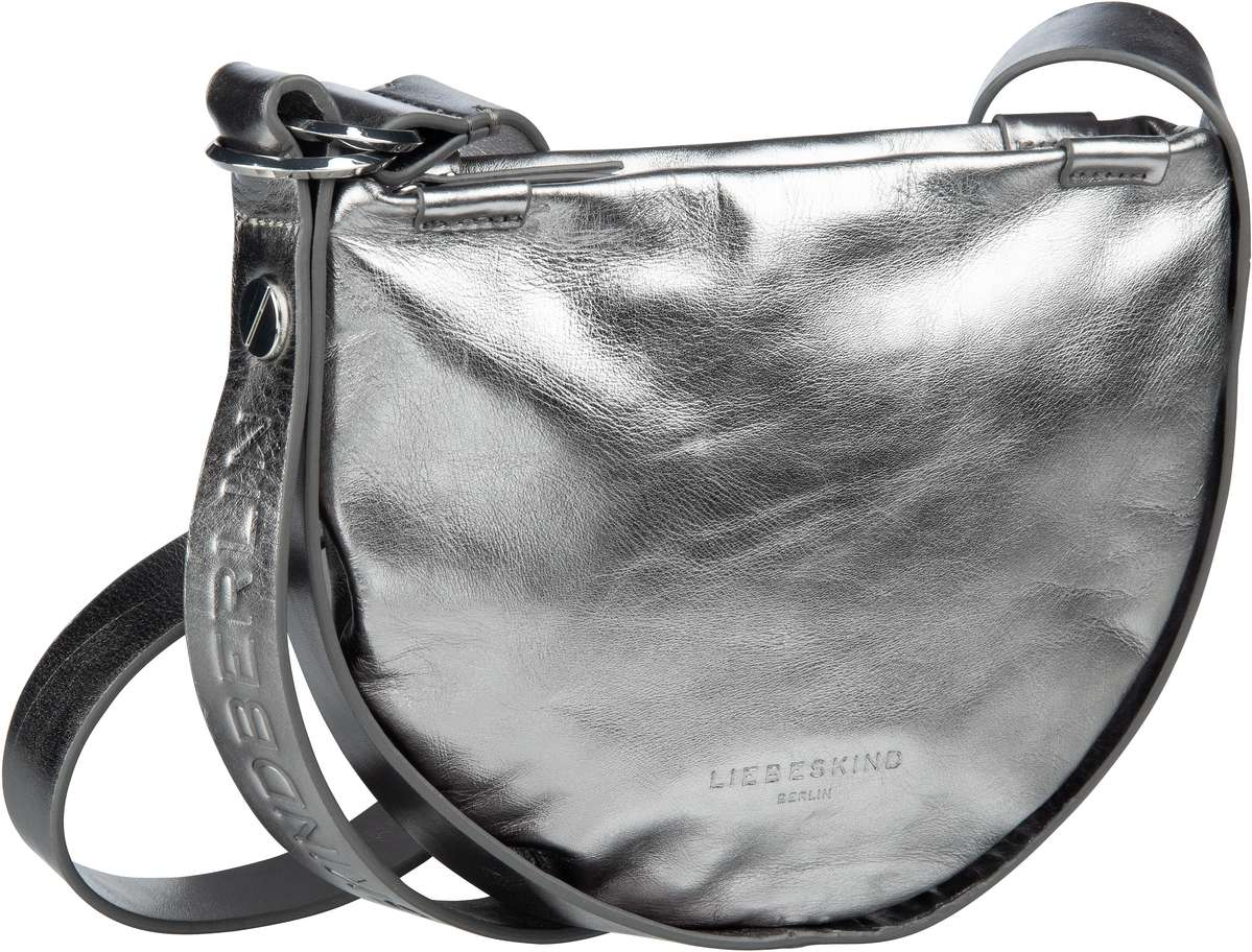 Berlin Umhängetasche Ring Ring 2 Metallic Crossbody S Iron Silver