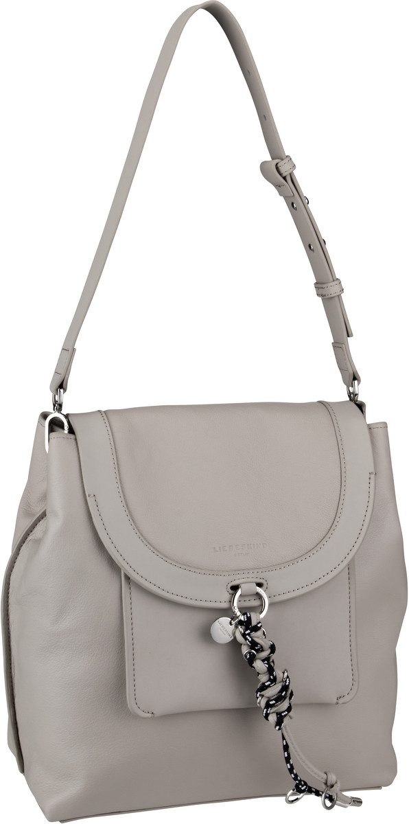 Berlin Handtasche Scouri Hobo L String Grey