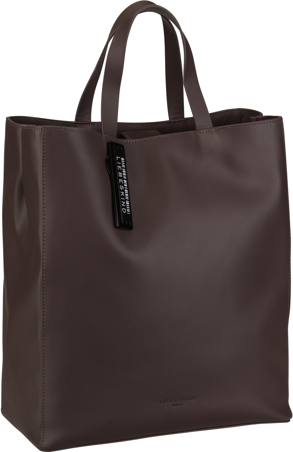 Berlin Handtasche Paper Bag Tote M Dark Brown