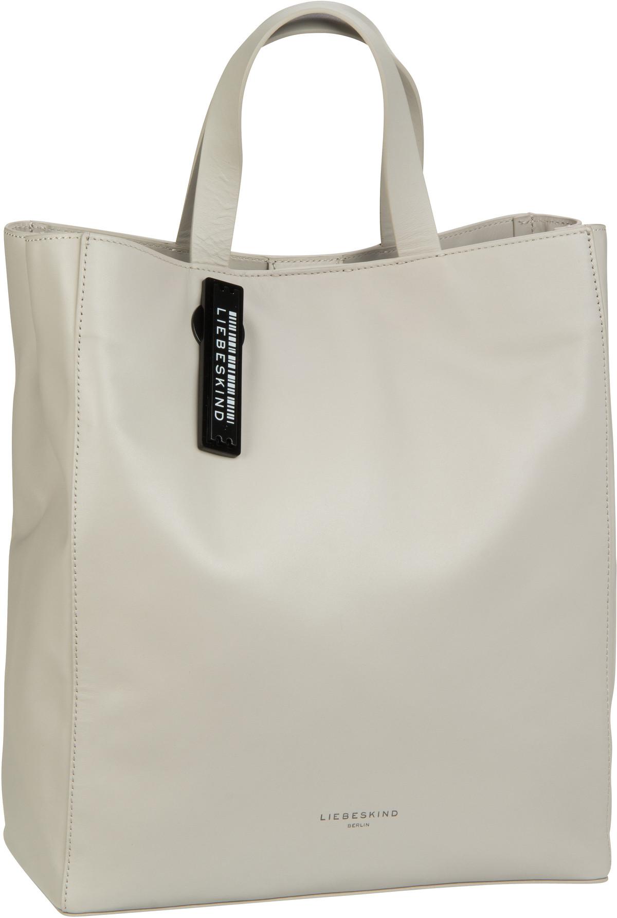Berlin Handtasche Paper Bag Tote M String Grey