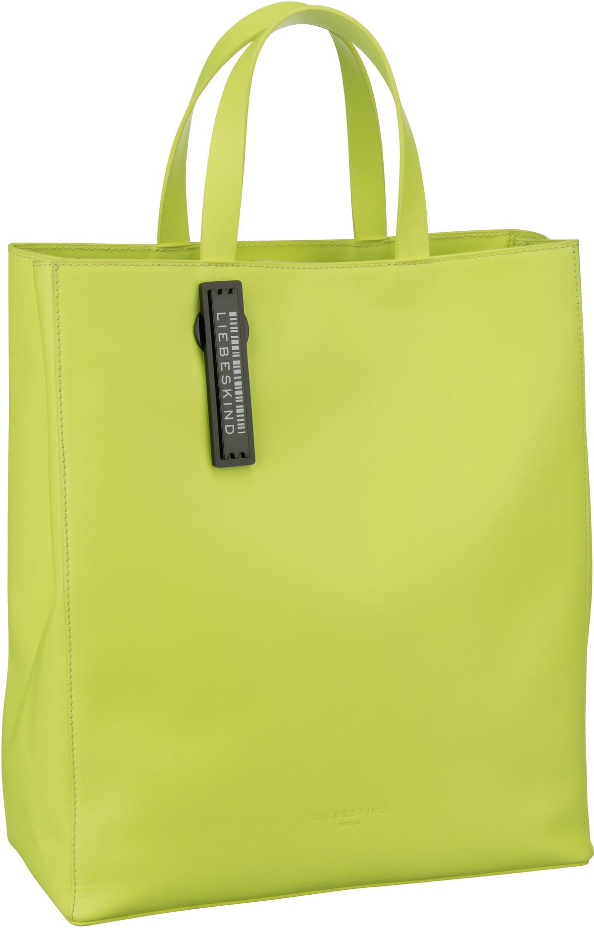 Berlin Handtasche Paper Bag Tote M Neon Yellow