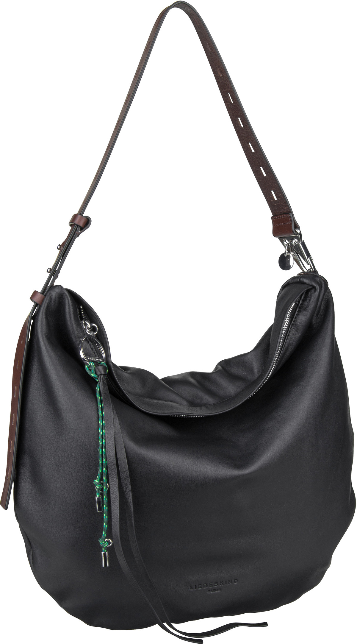 Berlin Handtasche Dive Hobo M Black