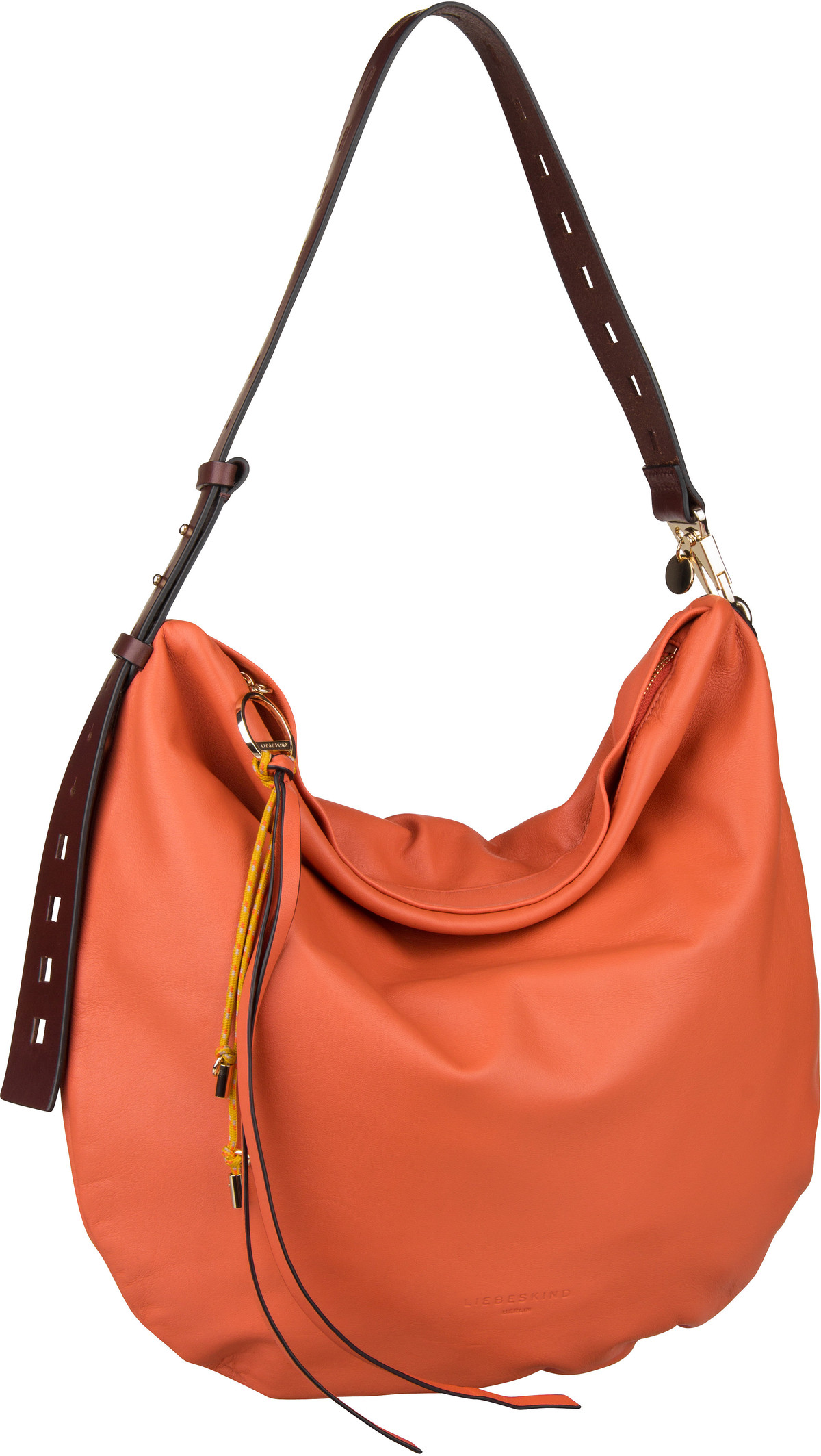 Berlin Handtasche Dive Hobo M Jaffa Orange