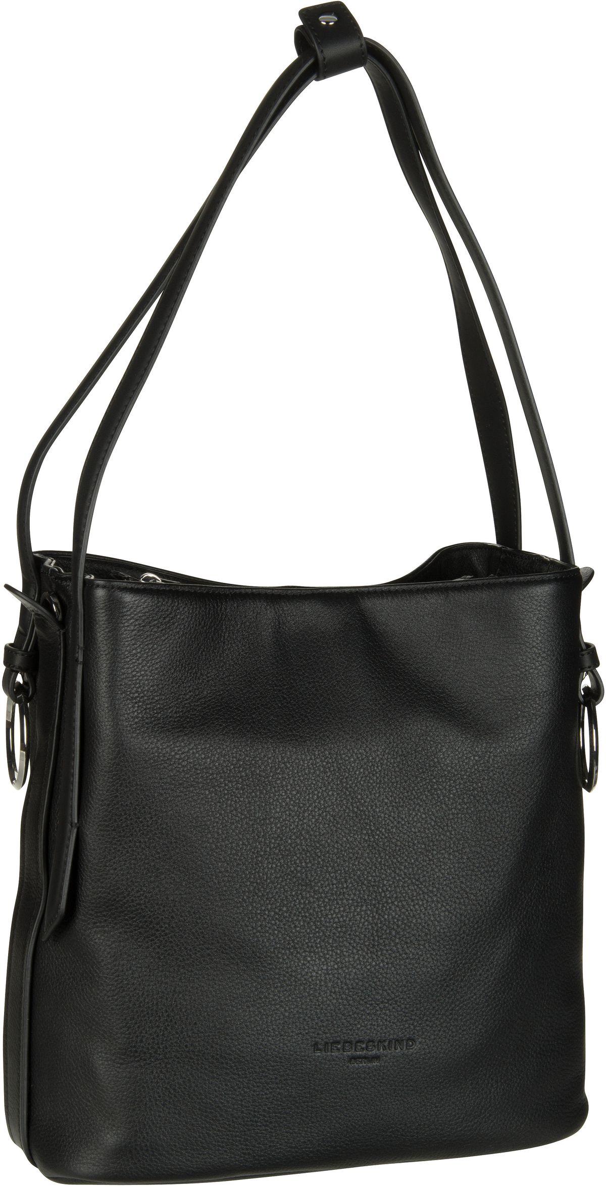 Berlin Handtasche Millenium Hobo M Black