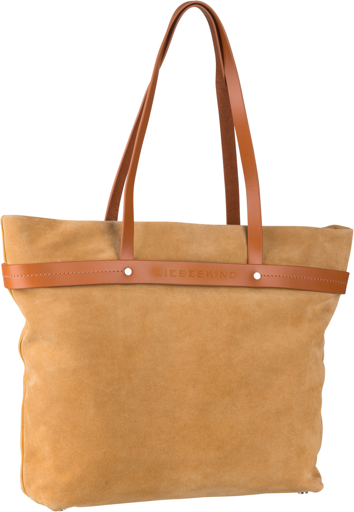 Berlin Shopper SoShopper Shopper L Suede Tawny Yellow