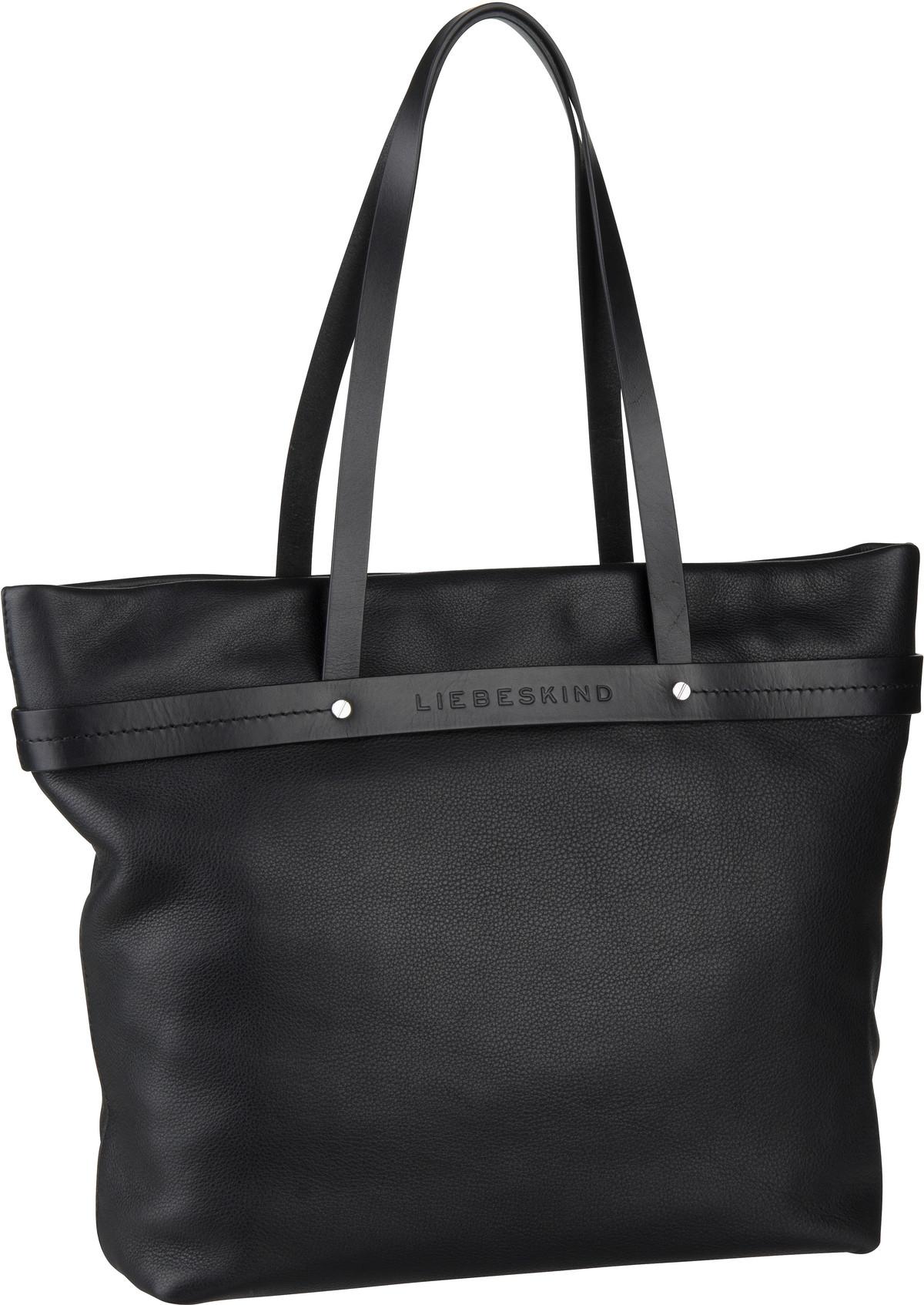 Shopper für Frauen - Liebeskind Berlin Shopper SoShopper Shopper L Black  - Onlineshop Taschenkaufhaus