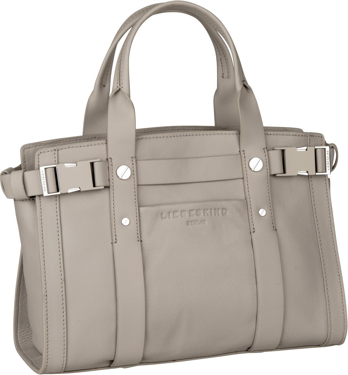 Berlin Handtasche Sporty Satchel M String Grey
