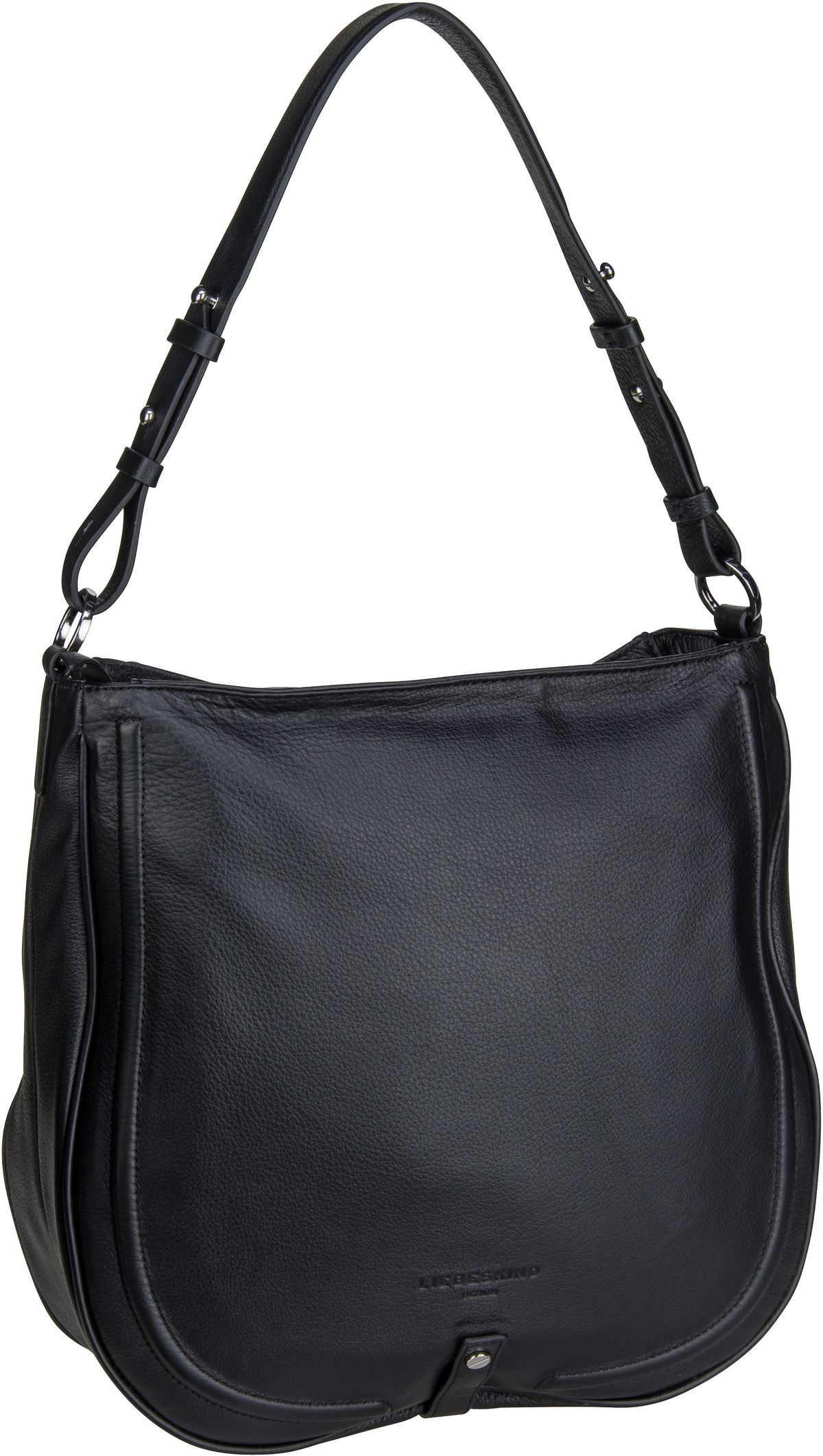 Berlin Handtasche Round Love Note Hobo L Black
