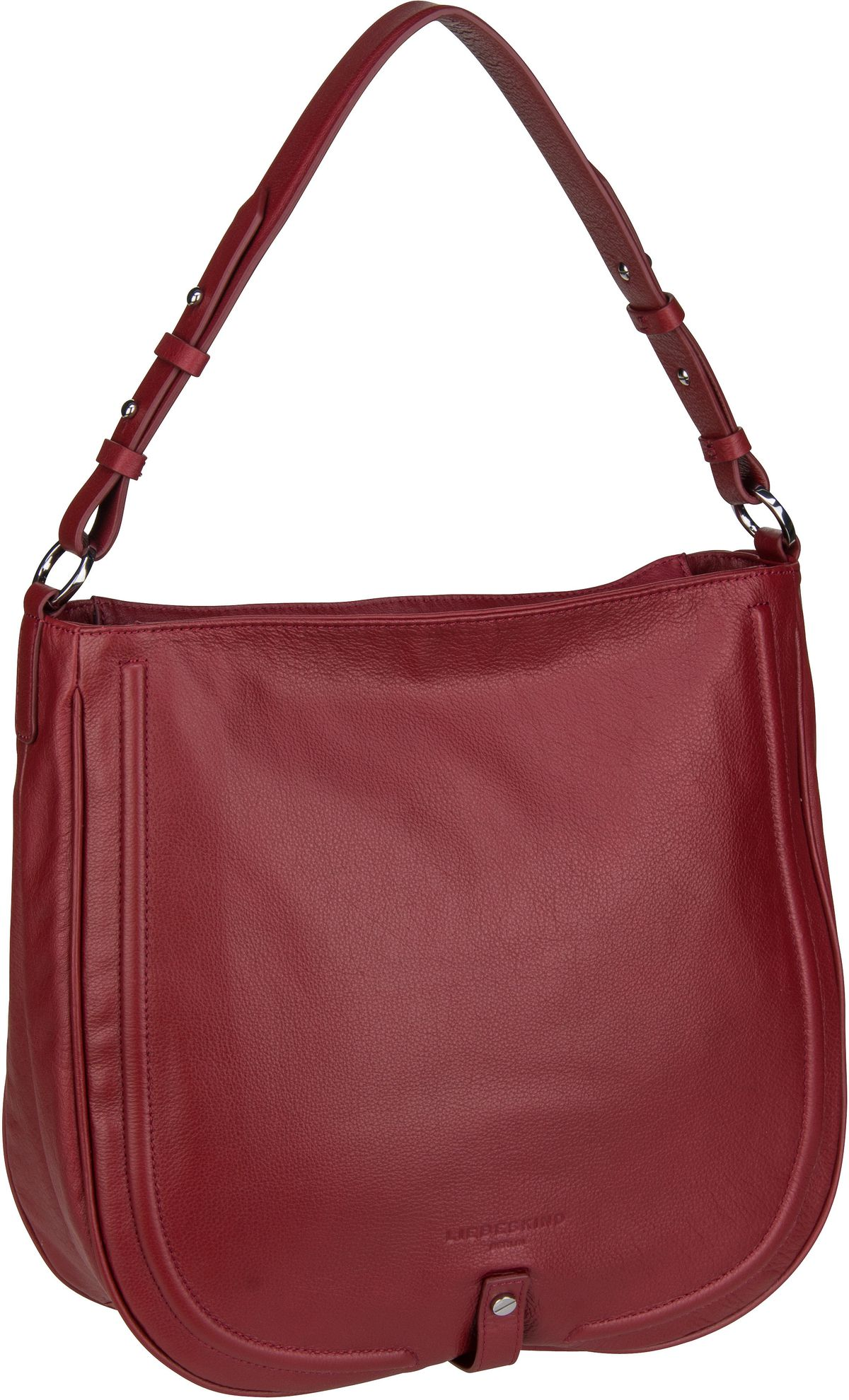 Berlin Handtasche Round Love Note Hobo L Dahlia Red