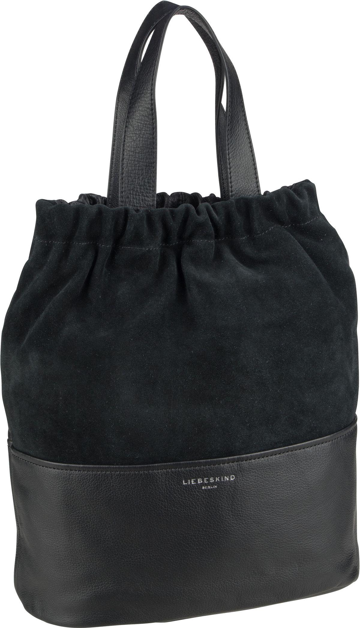 Berlin Handtasche Upsidedown Tote M Black