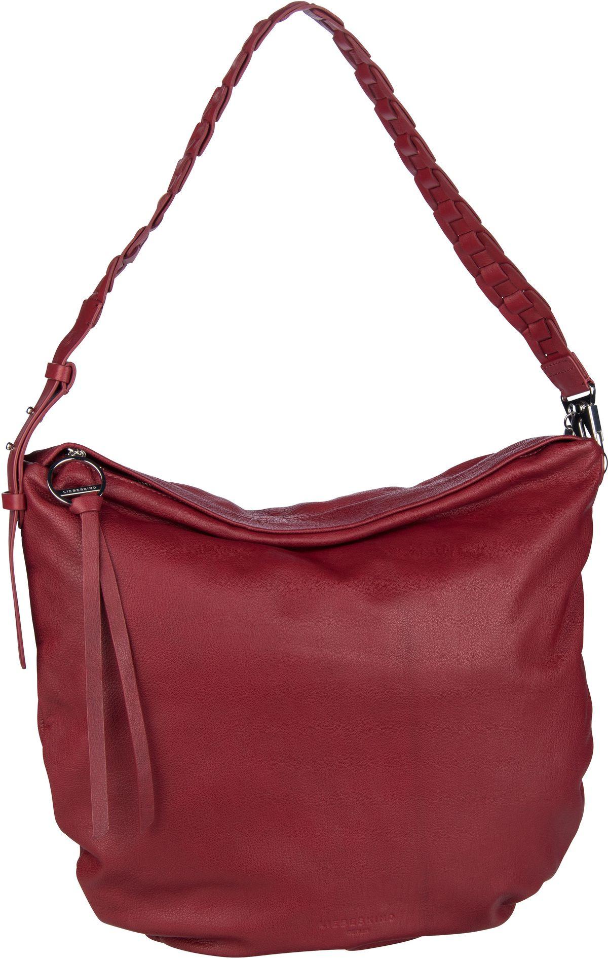 Berlin Handtasche Dive Bag 2 Hobo M Dahlia Red