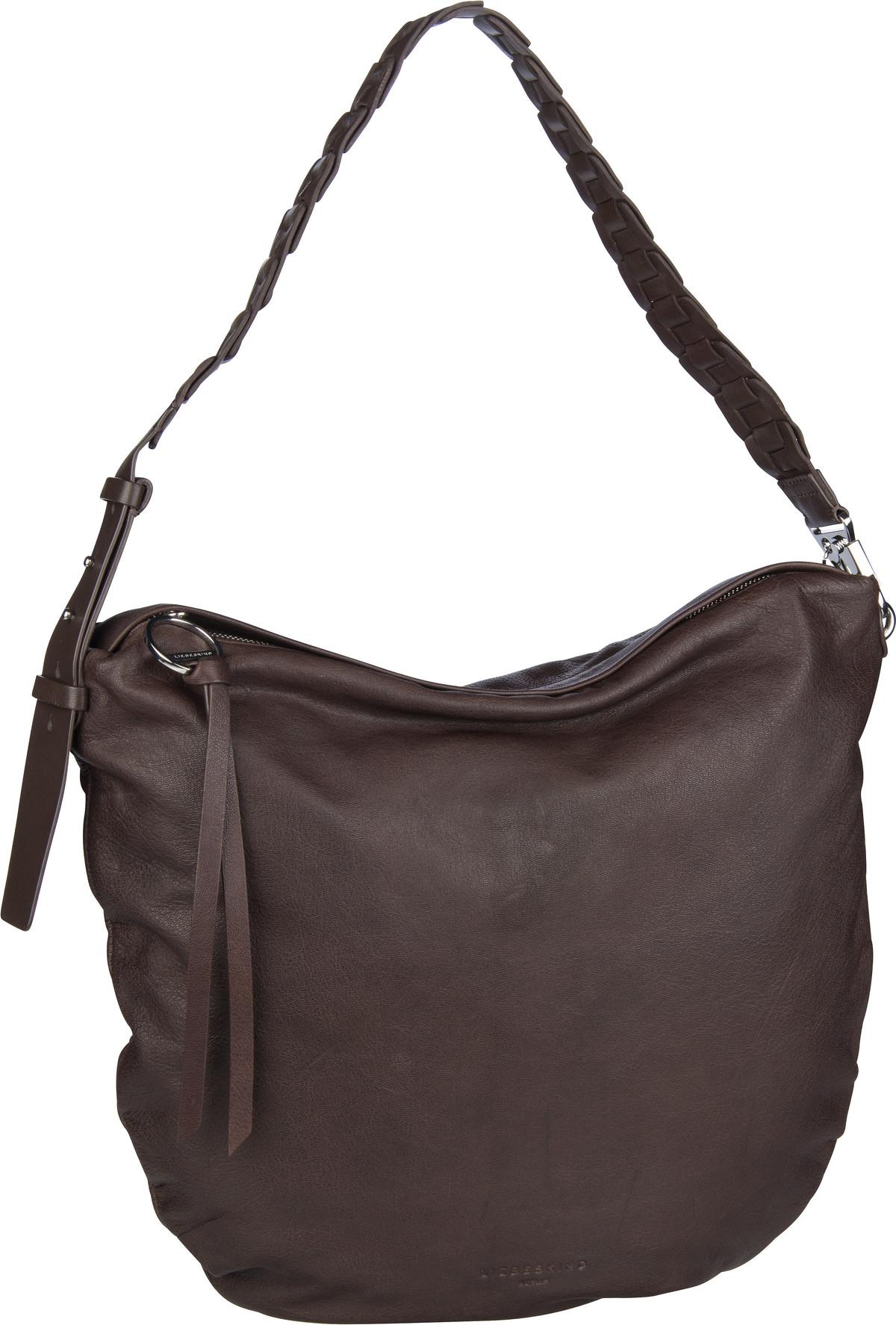 Berlin Handtasche Dive Bag 2 Hobo M Dark Brown