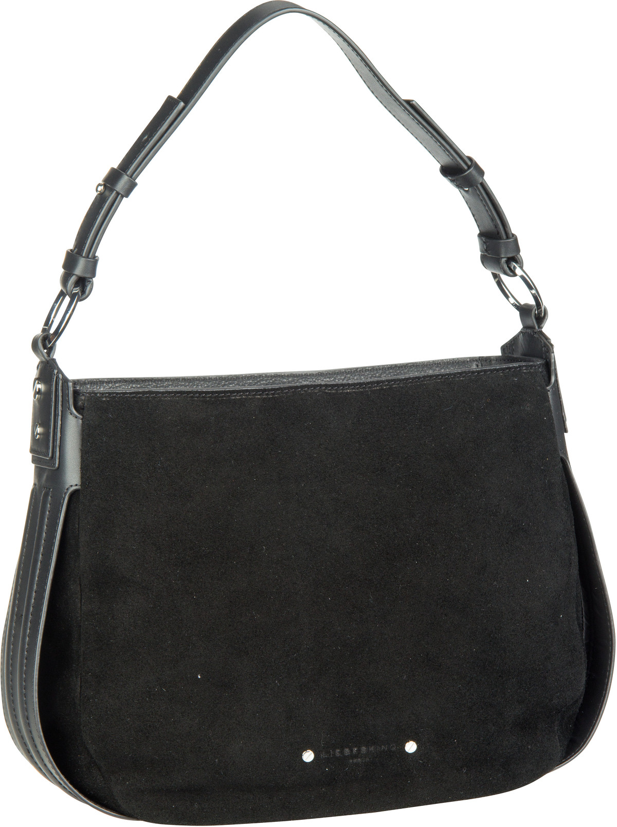 Berlin Handtasche Double Pipe Hobo S Black