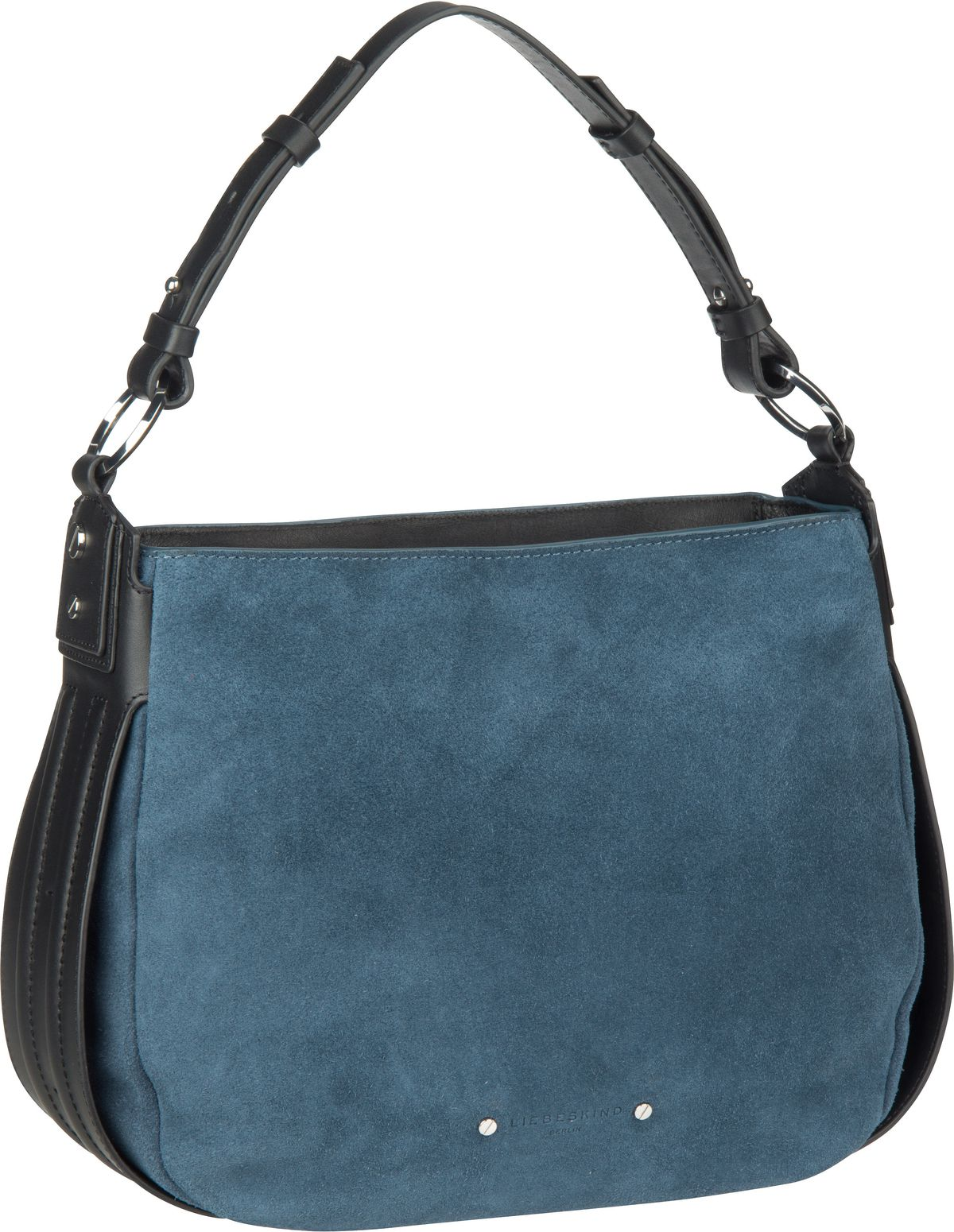 Berlin Handtasche Double Pipe Hobo S China Blue