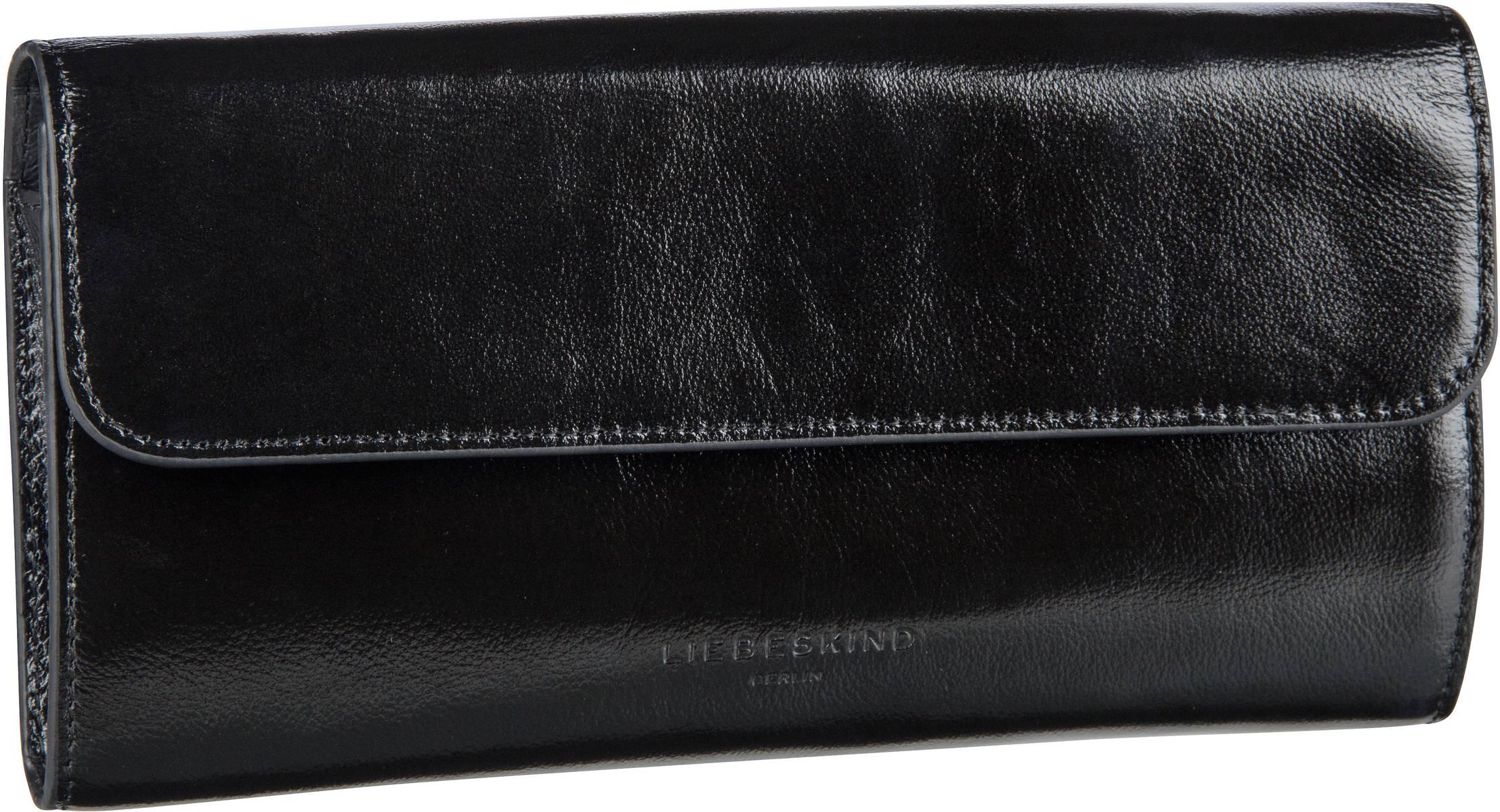 Berlin Handtasche Glossy Samantha Crossbody S Black