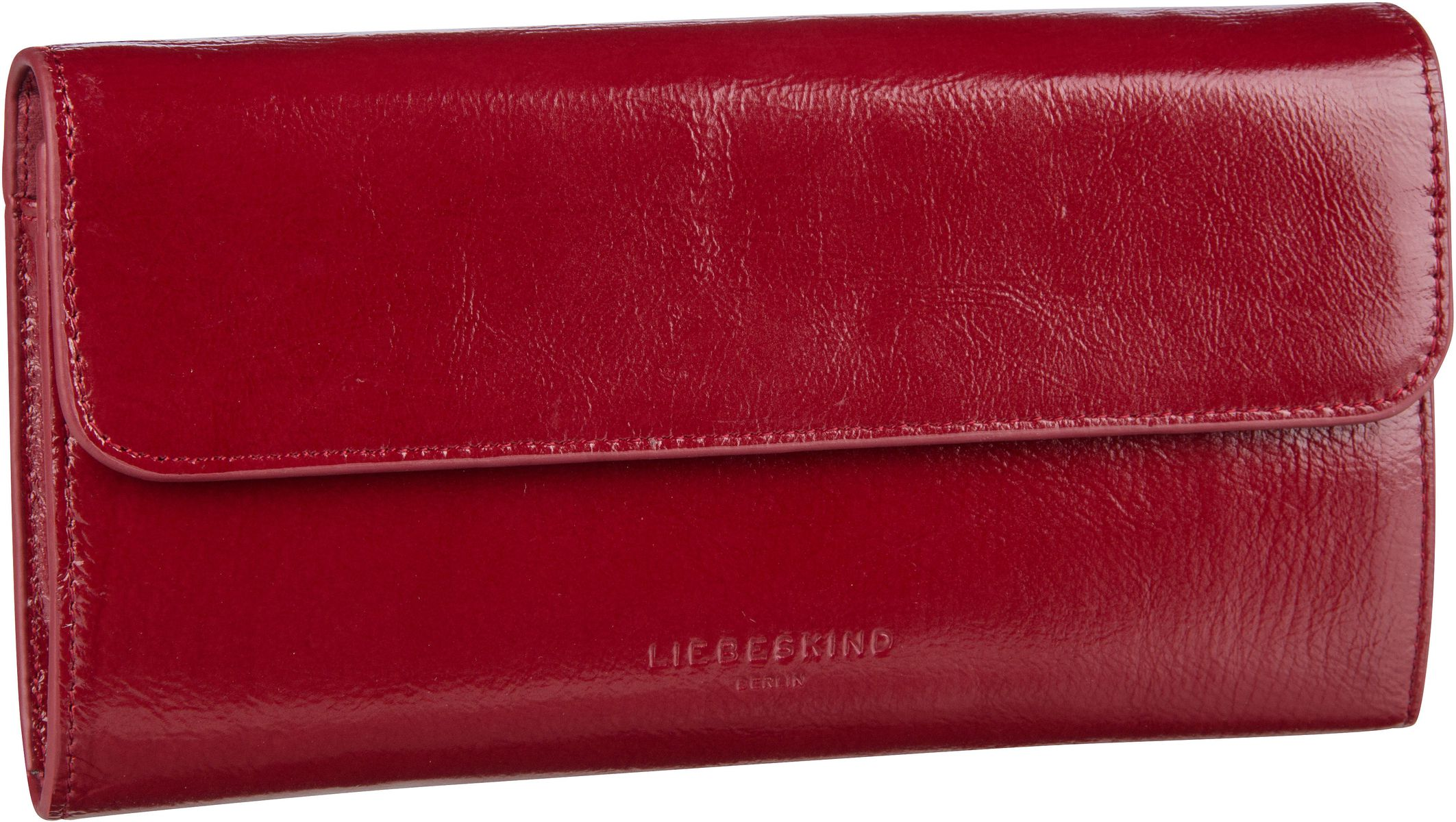 Berlin Handtasche Glossy Samantha Crossbody S Dahlia Red