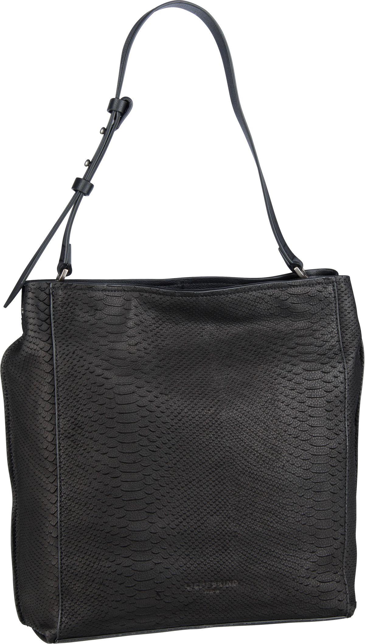 Berlin Handtasche Scouri 2 Hobo M Python Black