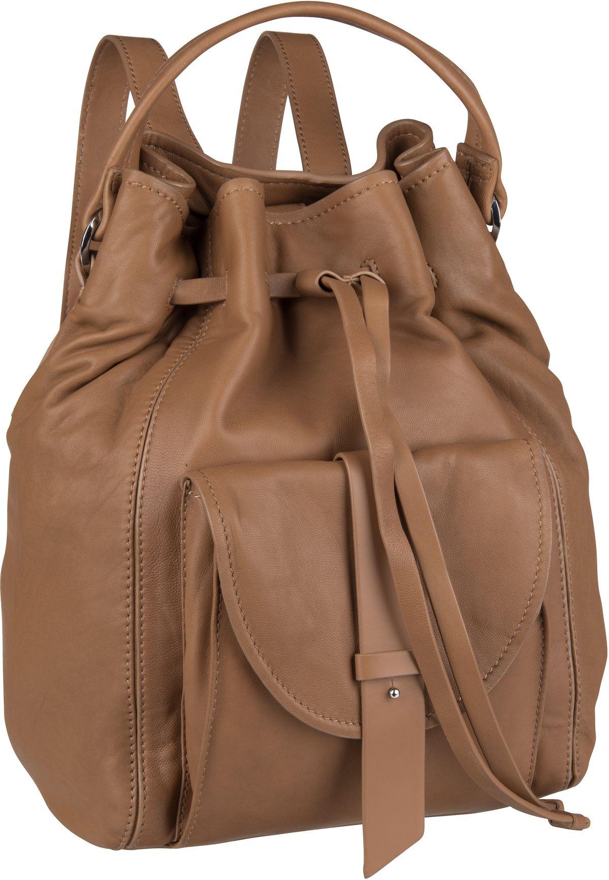 Berlin Rucksack / Daypack Soft Bucket Backpack M Tiger's Eye