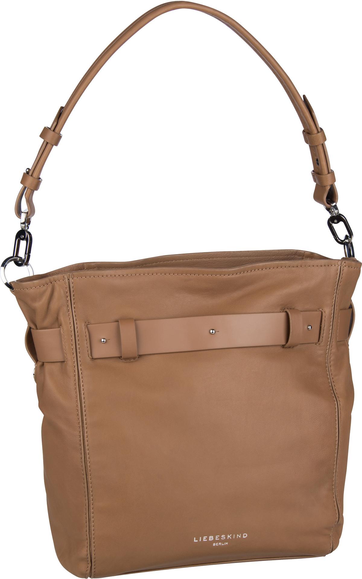Berlin Handtasche Soft Bucket Hobo M Tiger's Eye