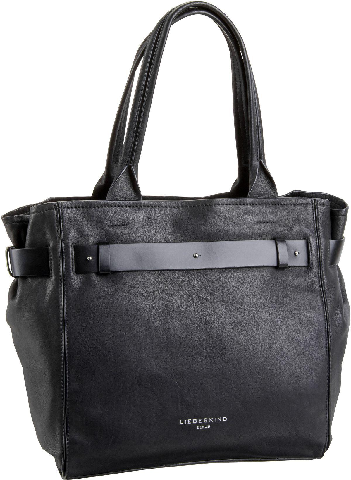 Berlin Handtasche Soft Bucket Satchel M Black