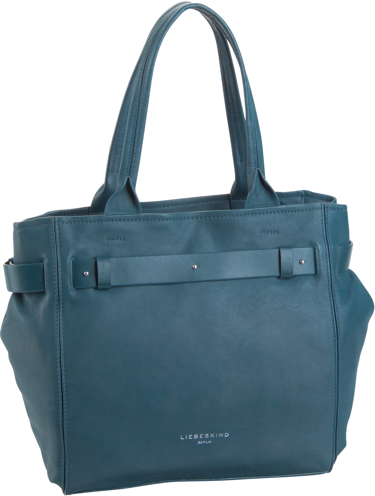 Berlin Handtasche Soft Bucket Satchel M China Blue