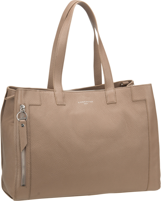 Berlin Handtasche L-Bag Satchel L Taupe