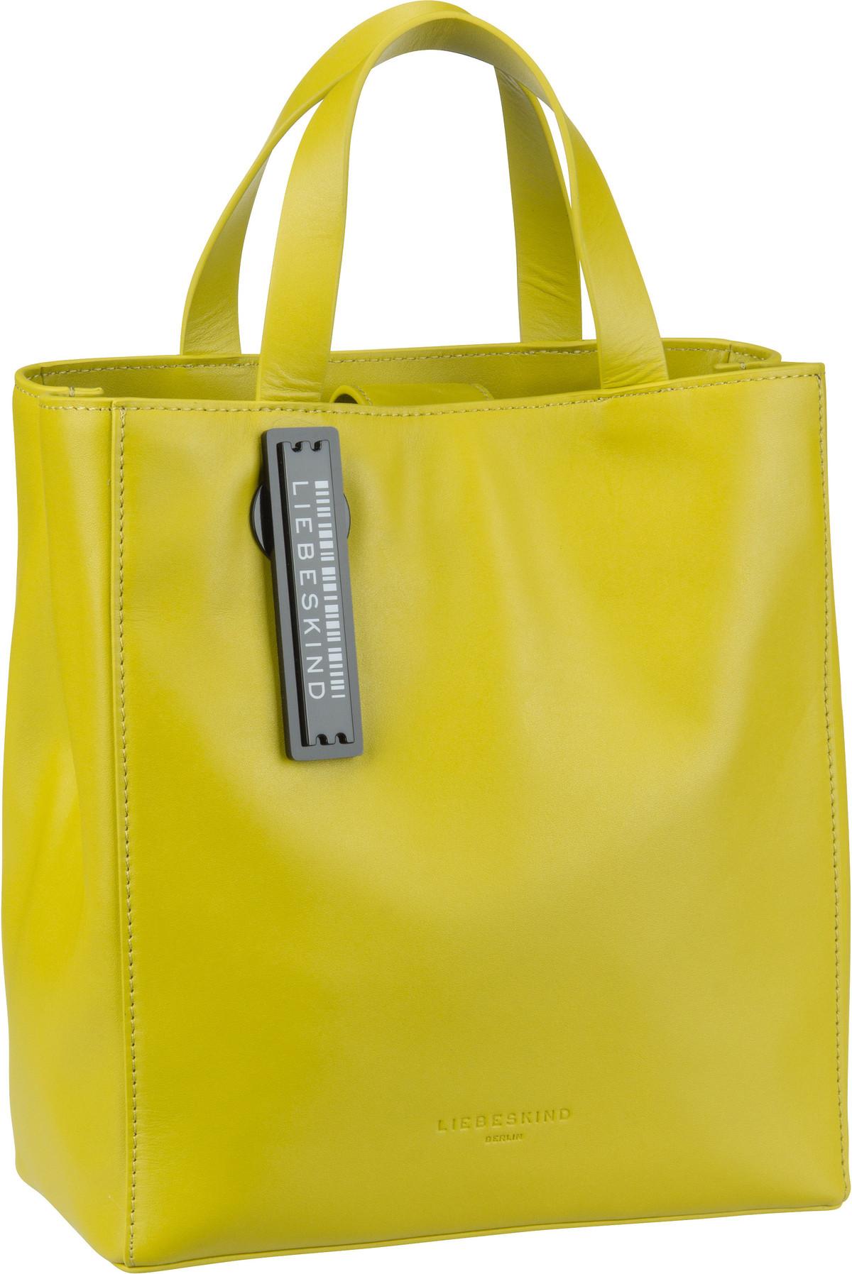 Berlin Handtasche Paper Bag Tote S Lime