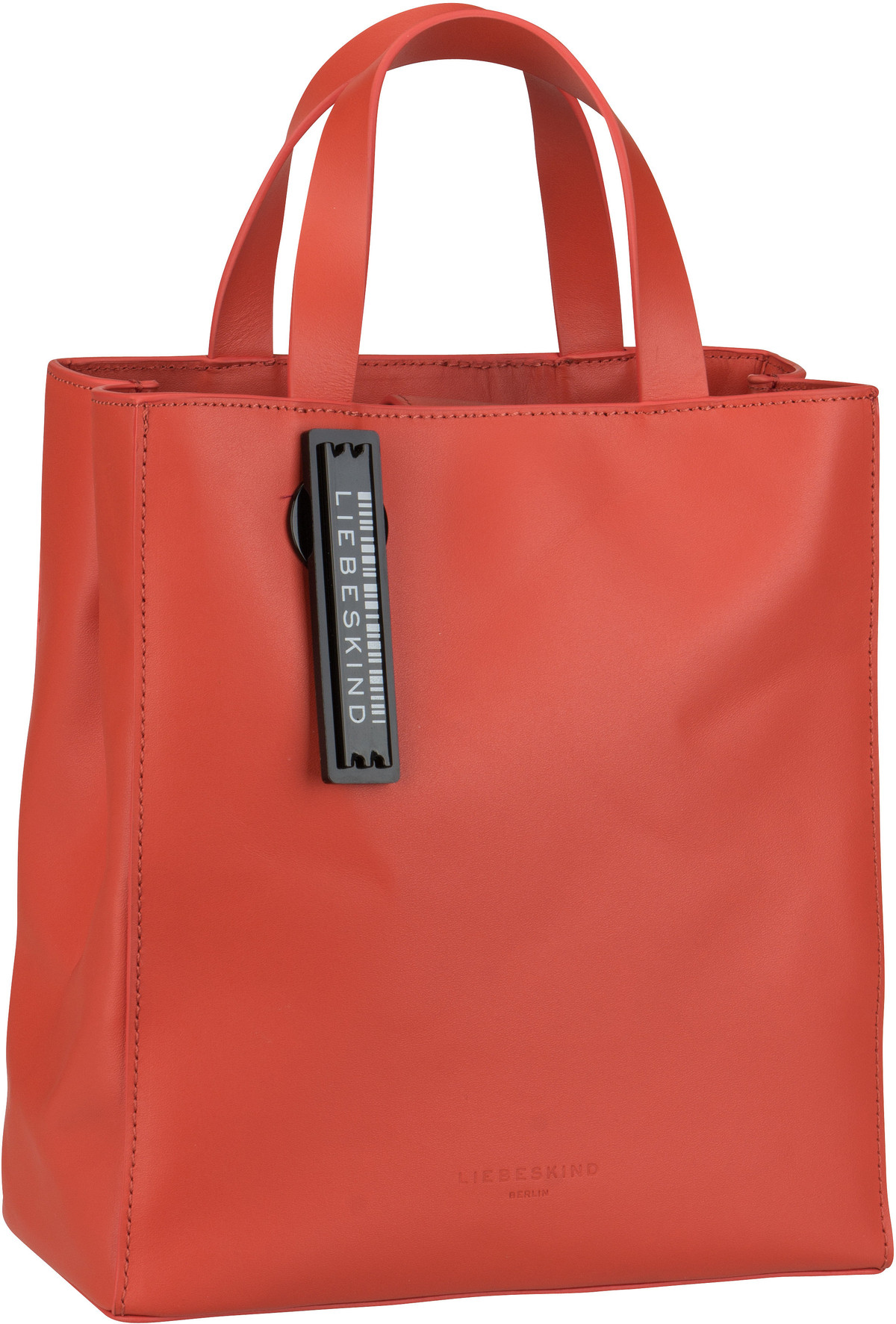 Berlin Handtasche Paper Bag Tote S Poppy Red