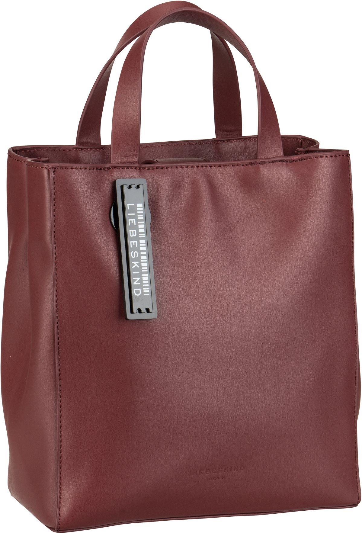 Berlin Handtasche Paper Bag Tote S Red Wine
