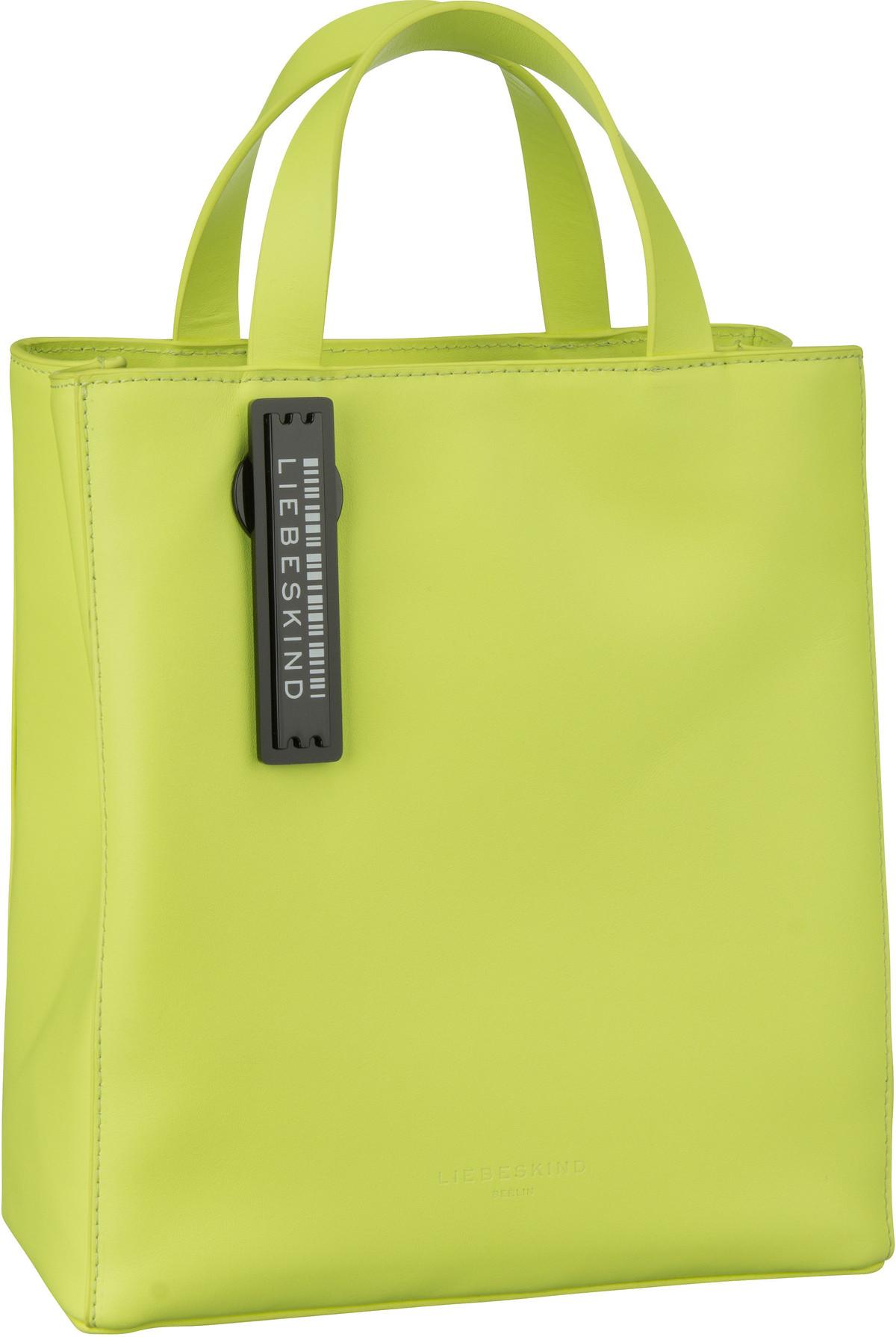 Berlin Handtasche Paper Bag Tote S Neon Yellow