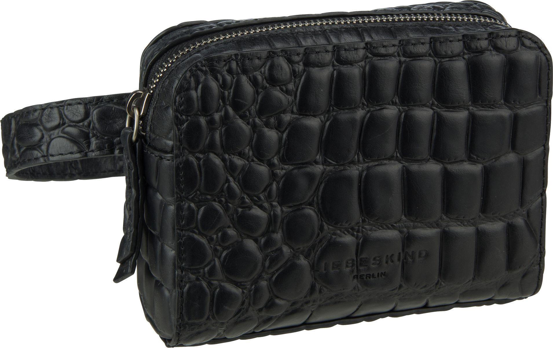 Kleinwaren - Liebeskind Berlin Gürteltasche Malibu Belt Bag S Black  - Onlineshop Taschenkaufhaus