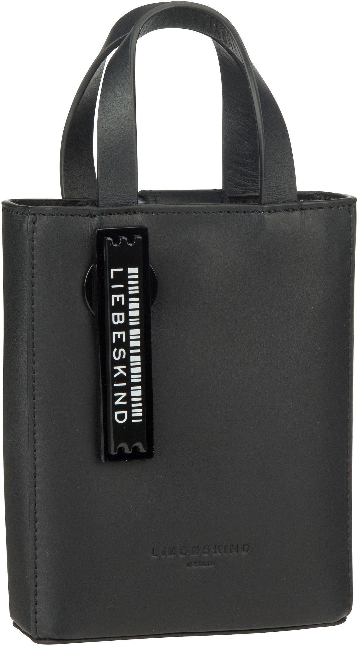 Berlin Umhängetasche Paper Bag Tote XS Black