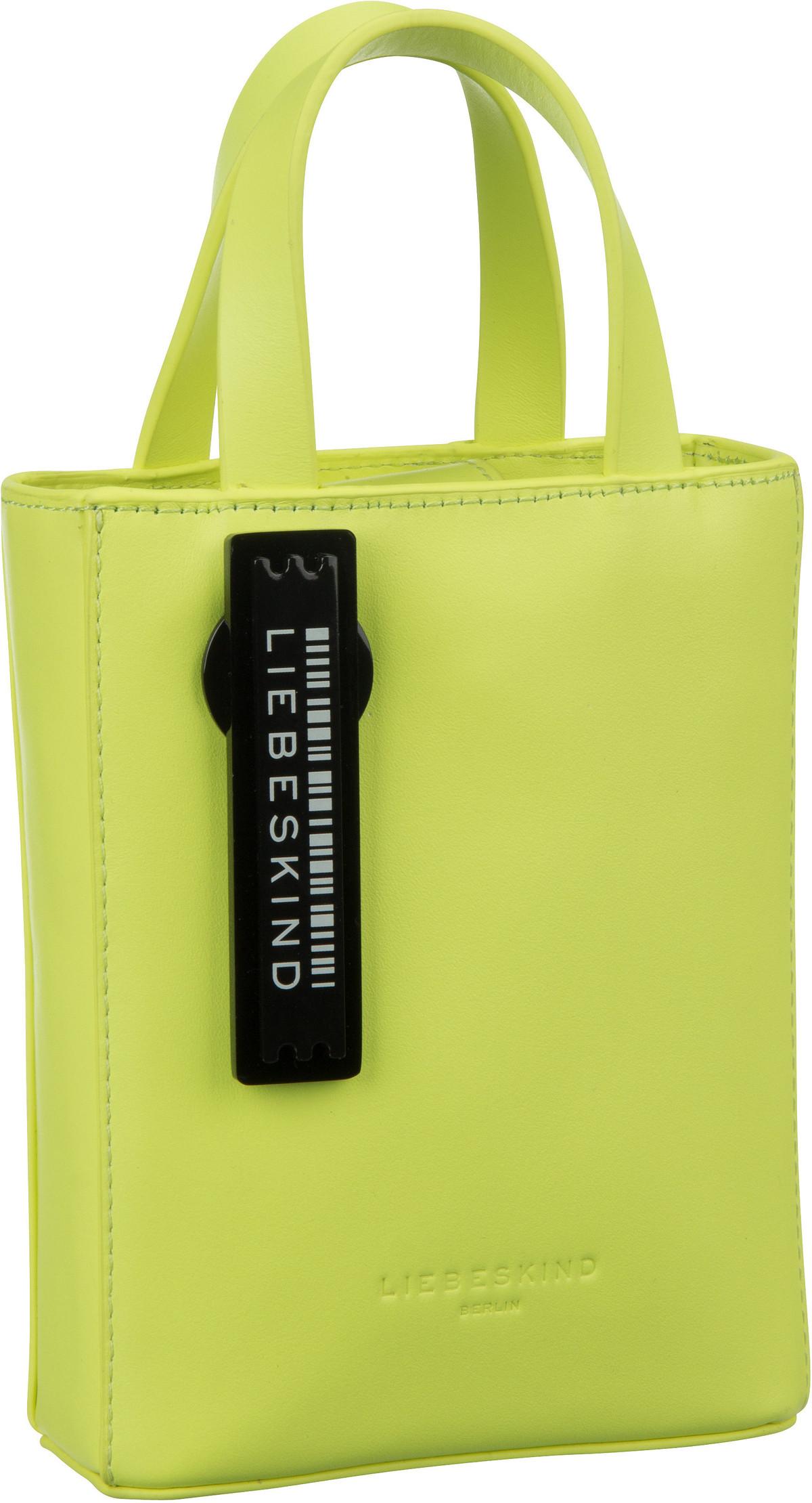 Berlin Umhängetasche Paper Bag Tote XS Neon Yellow