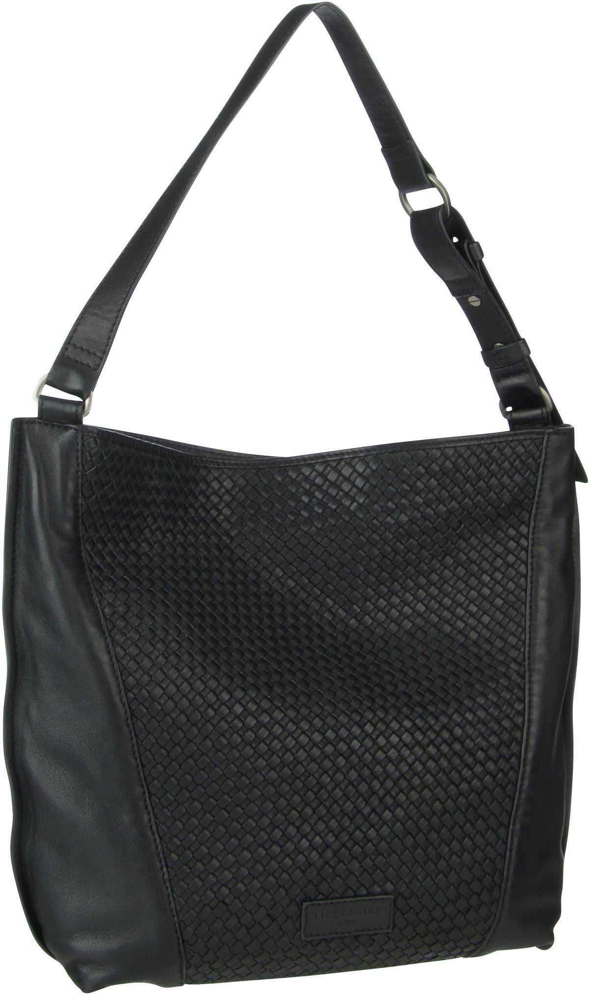 Berlin Handtasche Santa Fe Hobo M Black