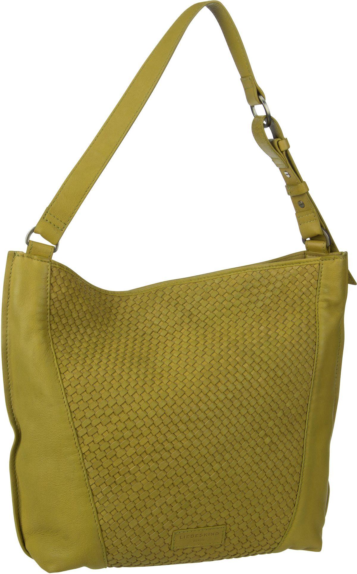 Berlin Handtasche Santa Fe Hobo M Golden Olive