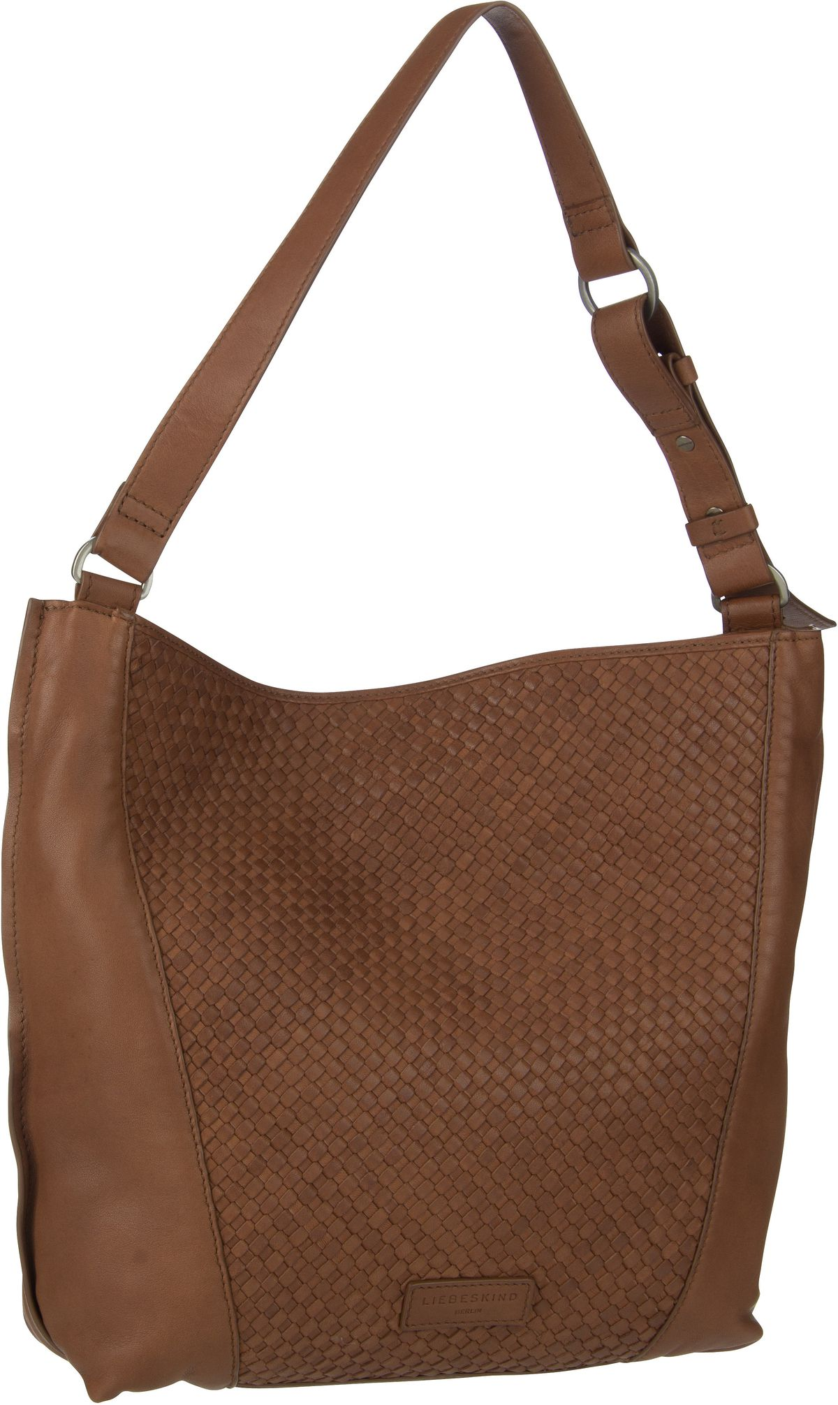 Berlin Handtasche Santa Fe Hobo M Medium Brown