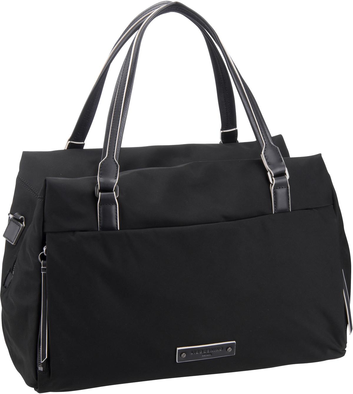 Berlin Handtasche Monterey Satchel M Black