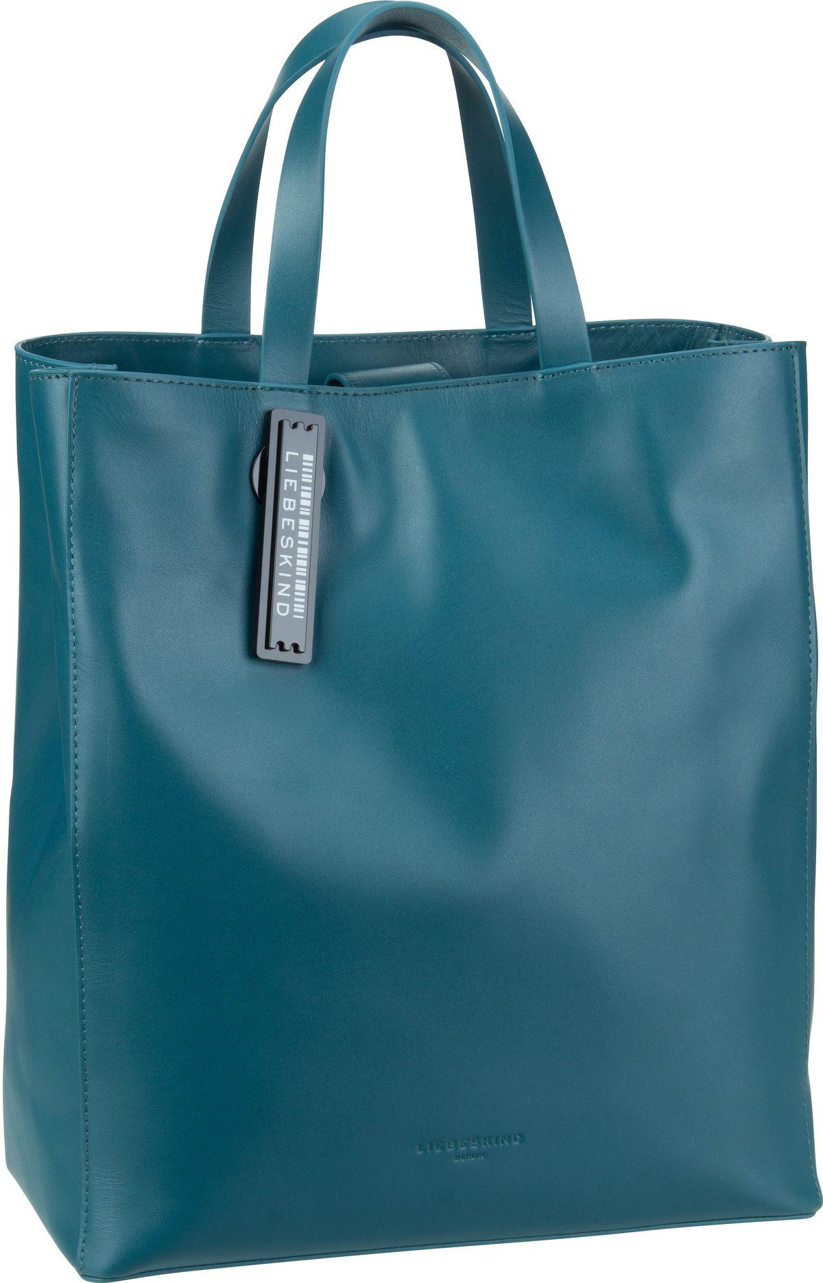Berlin Handtasche Paper Bag C20 Dragonfly Petrol