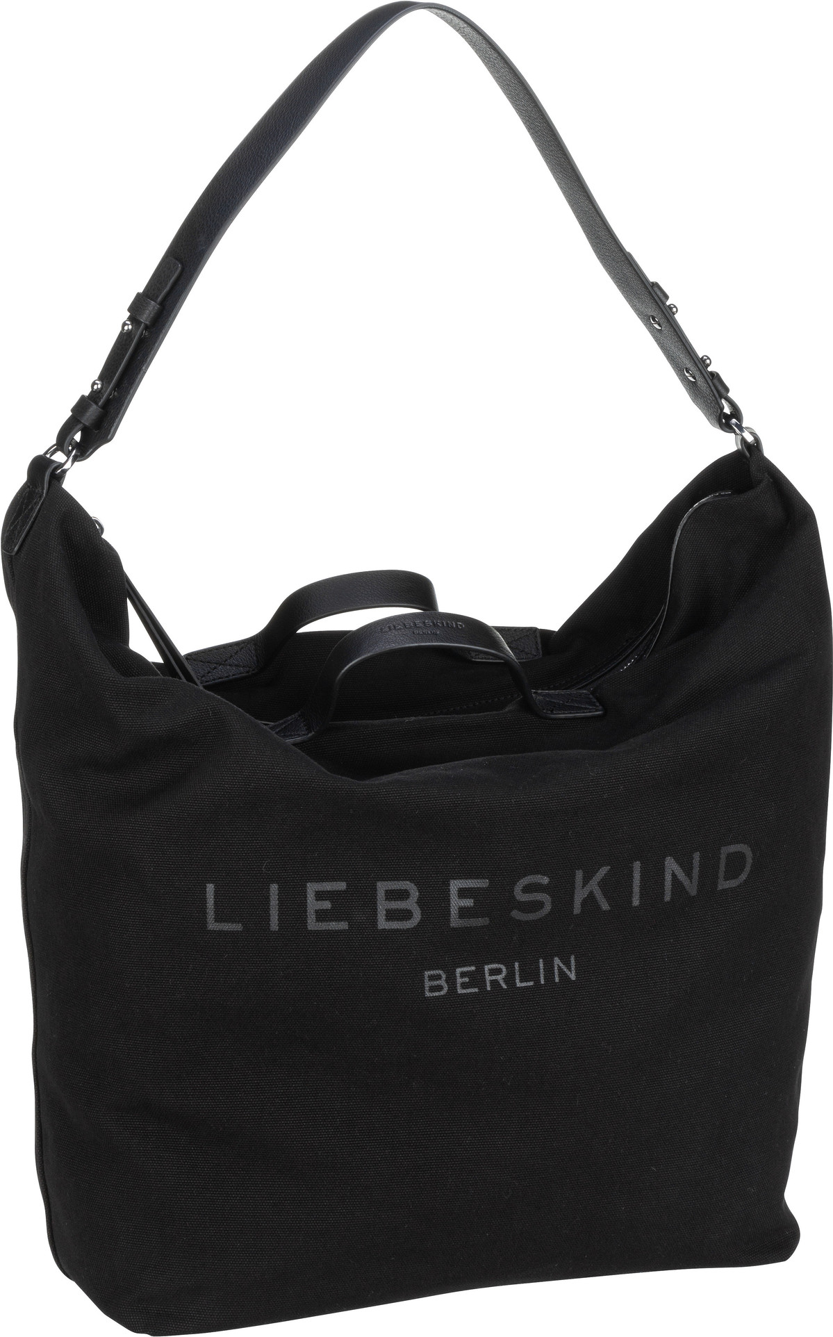 Berlin Handtasche Juniper Hobo L Black