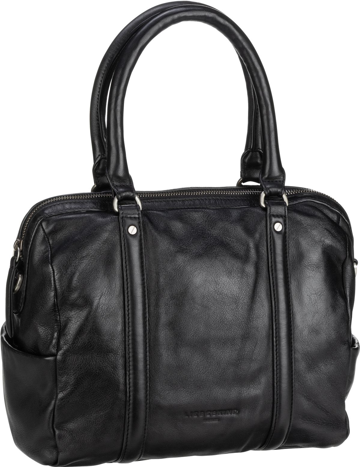 Berlin Handtasche Oak Bowling Bag M Black