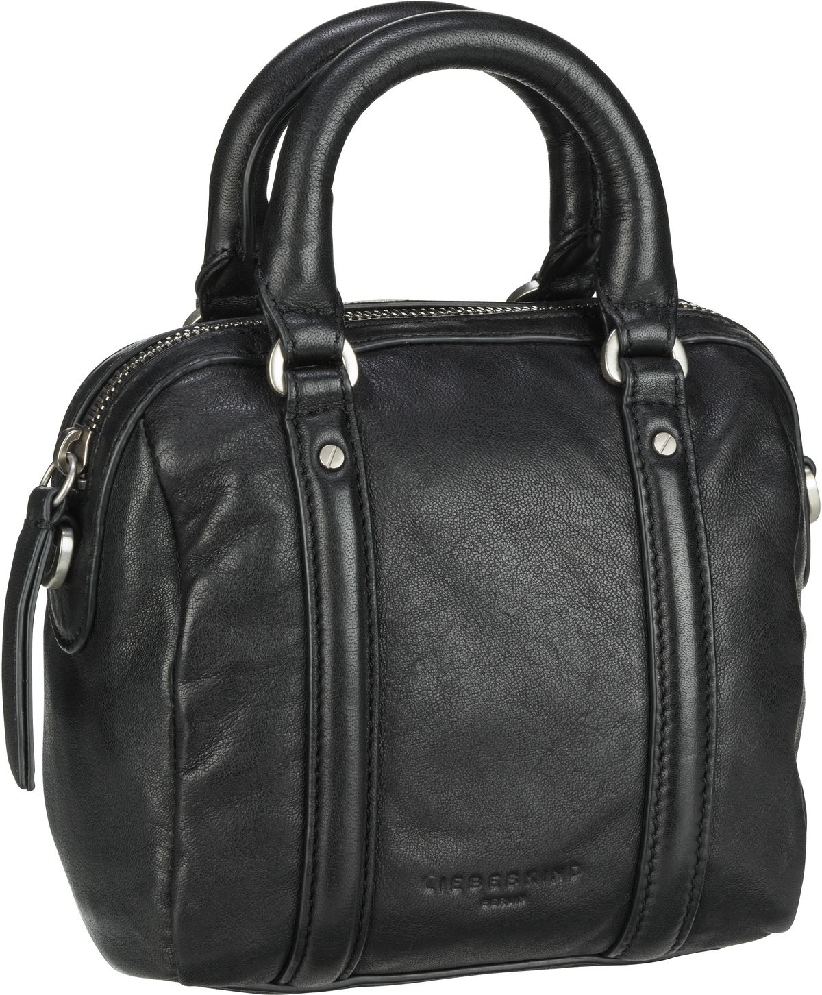 Berlin Handtasche Oak Bowling Bag XS Black
